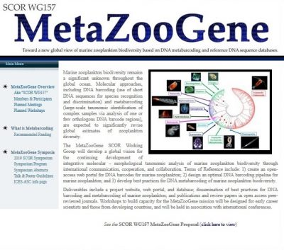 MetaZooGene home page
